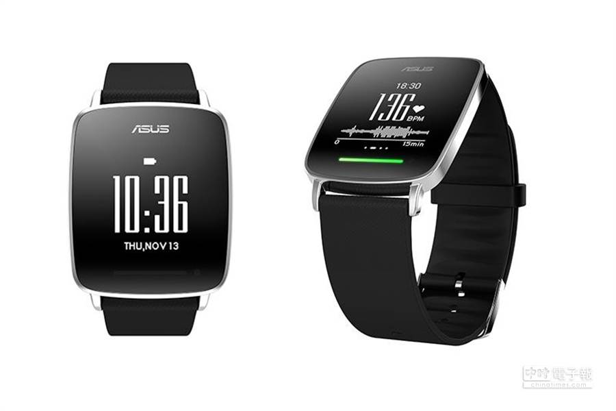 華碩宣布將在米蘭設計週發表VivoWatch智慧手錶,宣稱據備長達10天的待機能力。(取自華碩官網)
