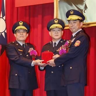 劉柏良接任刑事局長 警政署長陳國恩監交