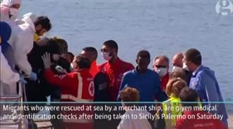 地中海難民船沉沒 700人恐喪命