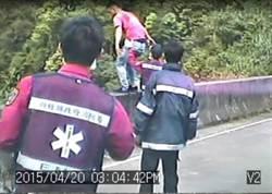 自責害3歲兒肝臟破裂 年輕爸跳橋獲救