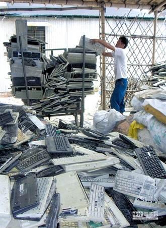美國和大陸 全球製造電子垃圾最多的國家