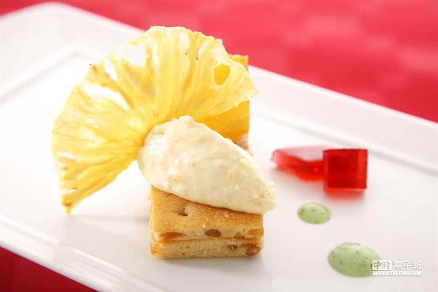 甜點:初夏鳳梨饗宴(業者提供)