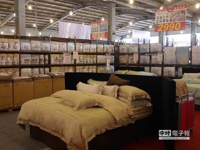 擁有廣大的消費族群及國際知名度的鱷魚寢具,即將在今年6月底退出台灣市場。(蔡依珍攝)