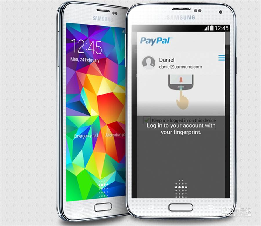 《富比士》網站報導,三星Galaxy S5的機密指紋資料,竟被發現能被駭客存取,資安產生極大疑慮。(取自Forbes)