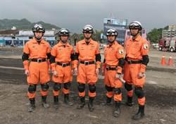 東京消防特搜隊 首參與萬安演習