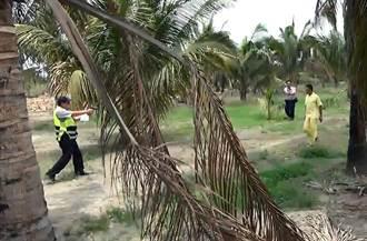 果園追賊遭砍 警連開7槍反擊