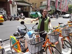 U-bike停車柱間距過寬 議員促改進