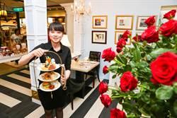 貴婦級下午茶 古典玫瑰園進駐新竹大遠百