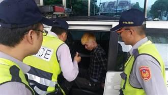 霸王哥不給錢 吃早餐搭車染金髮進警局