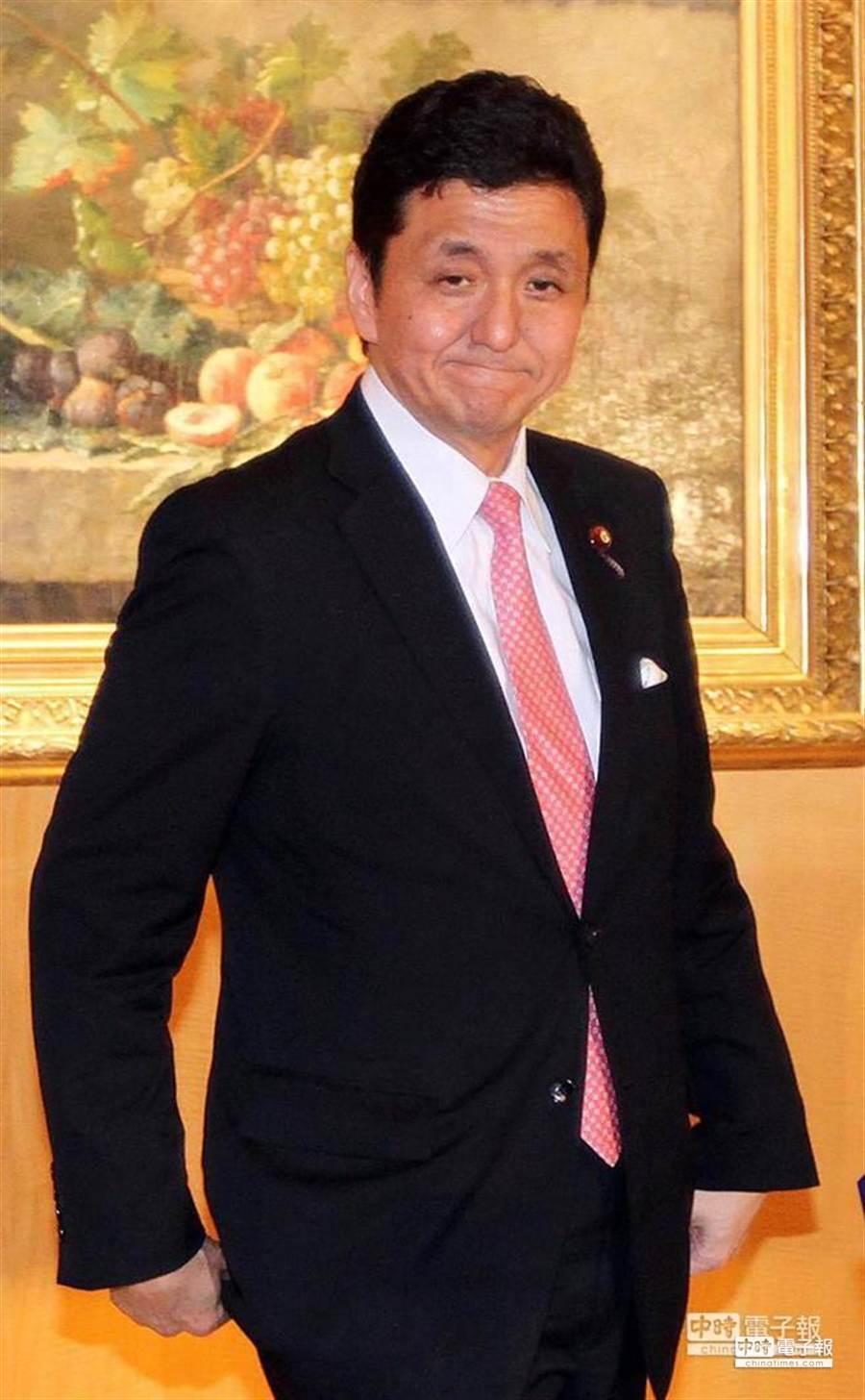 日本眾議員岸信夫。(圖/趙雙傑)