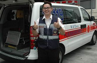 感念台灣人熱情 馬國生加入台救護隊