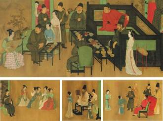 《韓熙載夜宴圖》藏密碼 青白瓷發源地是它!