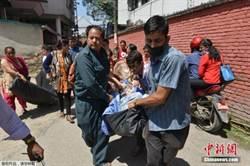 尼泊爾強震 西藏一人遭落石擊中死亡