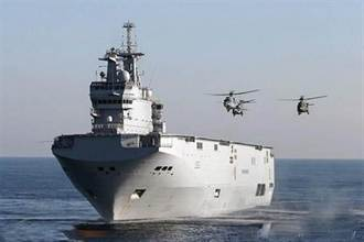 埃及海軍將在9月接收西北風級直昇機母艦