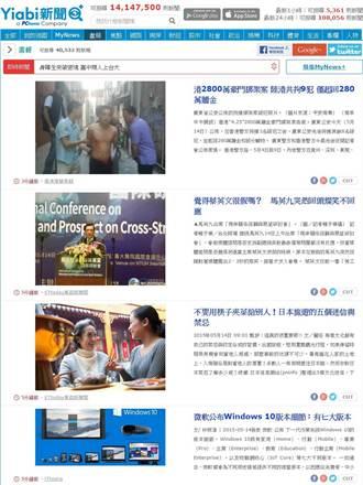 Yiabi新推圖像式畫報新聞 流量漲3成