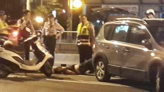 毒販拒絕警方臨檢 撞傷警員逃逸