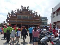 彰化福安宮廟會如常 越燒人氣越旺