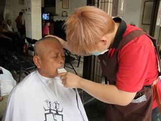 8年級髮型師 港都幫街友義剪