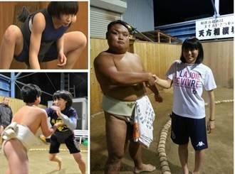 日本有史以來最可愛相撲女神