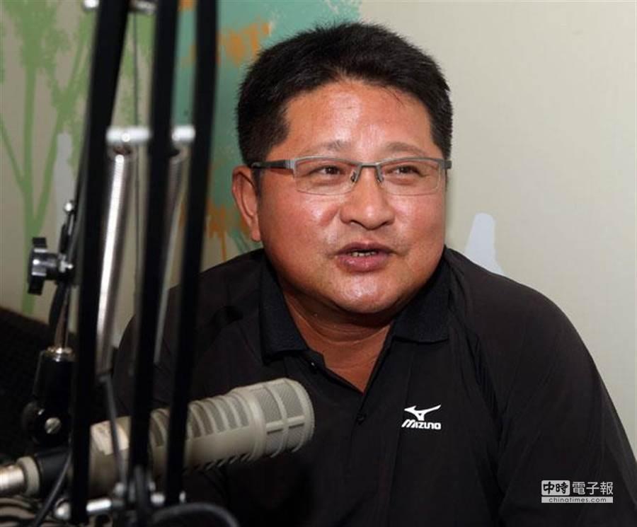 圖為前職棒球員、玉里國小少棒隊總教練陳執信。(資料照片 王英豪攝)