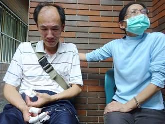 女老師遭落石砸死 先生痛哭:為什麼是她?