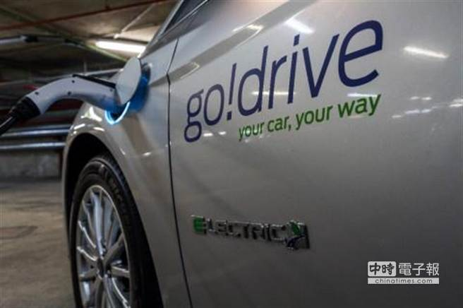 福特宣佈於倫敦進行「GoDrive 都會車輛即時共用實驗」,以50輛汽車為2000人提供車輛共用租賃服務,與多達20個地點領車及還車之便利配套。(圖/福特)
