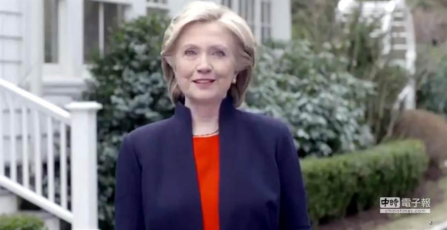 希拉蕊就算明年當選美國總統,也要在後年才能擠下梅克爾。(本報系資料照片)