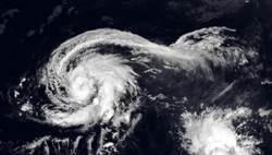 「白海豚」颱風衛星照 鄭明典直誇優雅