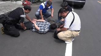 販毒拒臨檢駕車撞警 警連開8槍逮人
