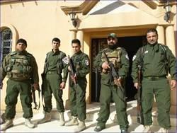 敘利亞基督教戰士將IS武裝分子斬首