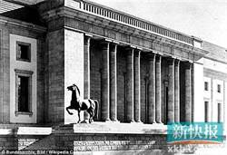 失蹤70年 價值2.7億台幣希特勒銅馬現身