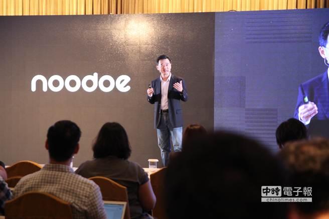 Noodoe Watch開發商John Wang。(圖/黃慧雯攝)