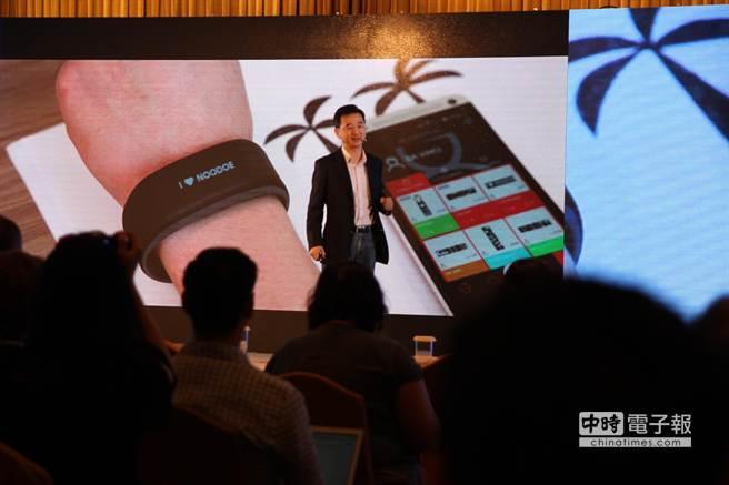 Noodoe Watch能讓使用者透過App,訂製專屬自己的功能,打造與眾不同的穿戴體驗。(圖/黃慧雯攝)