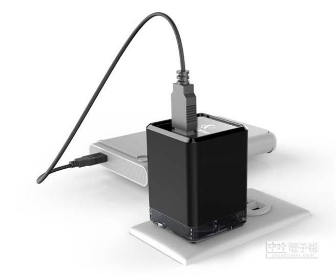 透過NextDrive Plug物聯插頭可輕鬆建置雲端硬碟。(圖/聯齊科技)