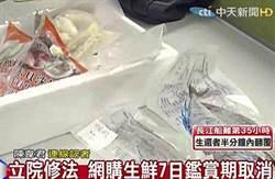 立院修法 網購生鮮7日鑑賞期取消
