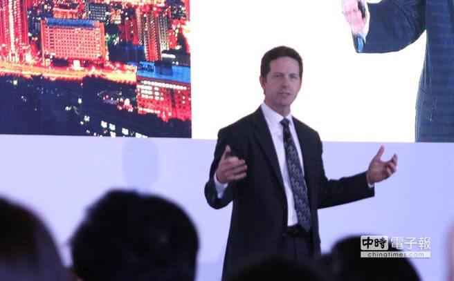 英特爾物聯網事業部資深副總裁暨總經理Doug Davis。(黃慧雯攝)