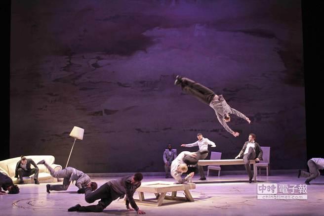 「嘻哈大少舞團」首度訪台演出舞作《尋根之旅》。(新象文教基金會提供)