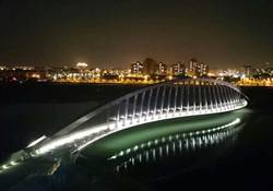 漂亮! 故宮南院仿草書動感景觀橋竣工