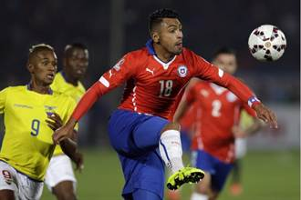 美洲盃開踢 智利2球勝厄瓜多開紅盤