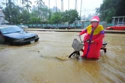 午後暴雨 北市、新北市部分地區淹水警戒