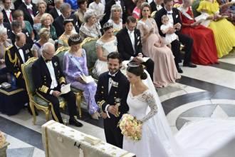 戀情曾不被看好 辣模除刺青嫁瑞典王子