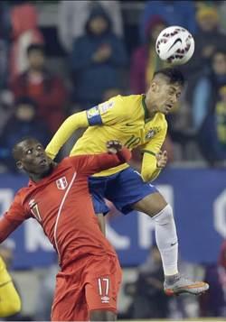 美洲盃預賽 巴西2比1擊敗秘魯