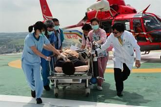 搶救分秒必爭! 直昇機外海救援印尼籍漁工