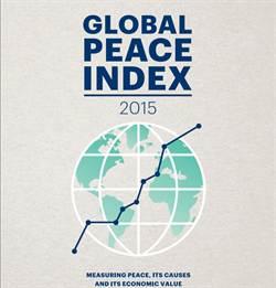 全球和平指數 台灣排35名