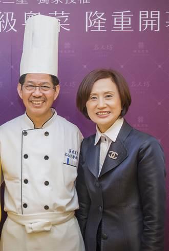 全台首家米其林二星粵菜餐廳 高雄開幕