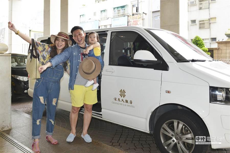 暑假旅遊旺季,漢來飯店優惠「殺很大」。(張啟芳攝)
