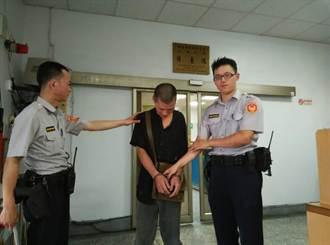 被連續通緝 慣竊1天2出2進警局