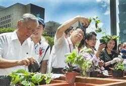 台北市長柯文哲出席田園城市示範基地成果發表會