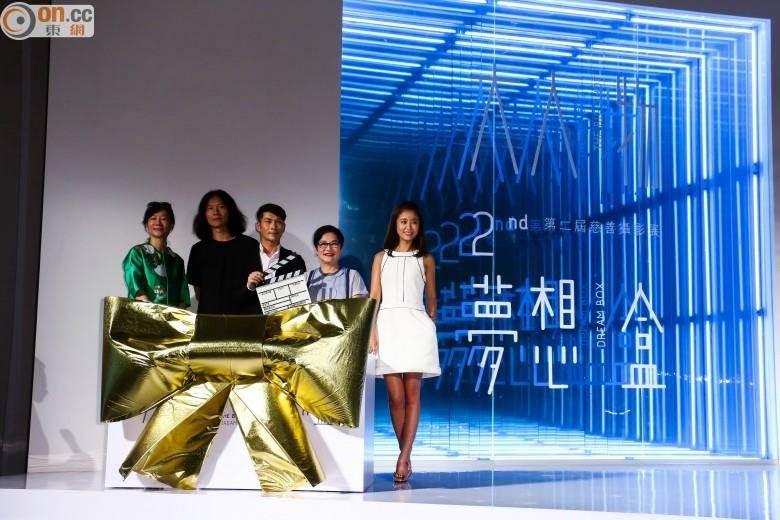 林心如(右起)與張小燕等人為第二屆大人物展揭開序幕。(圖/東網 on.cc)