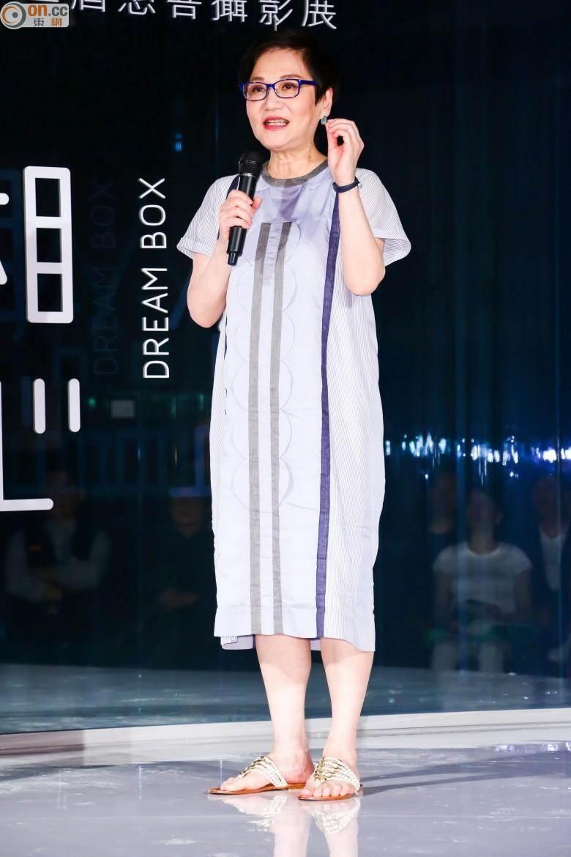 張小燕擔任「第一屆大人物青少年圓夢計劃」評審團主席。(圖/東網 on.cc)